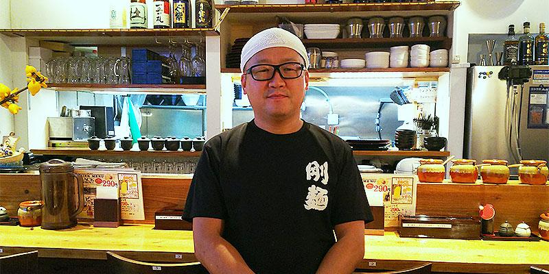 極楽うどんグループ代表 田中隆司